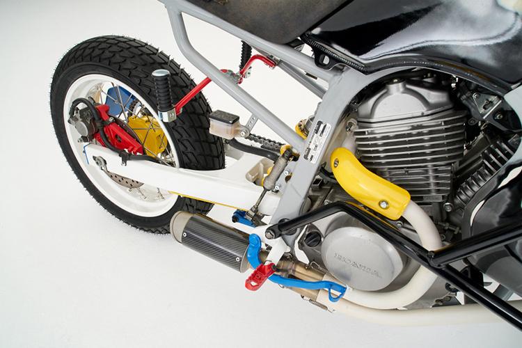 Honda Transalp Scrambler