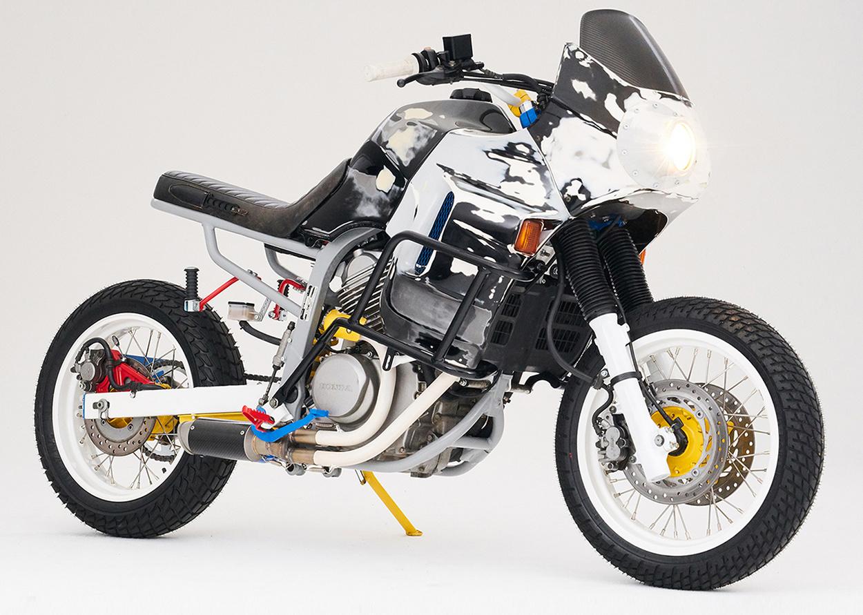 honda transalp war machine by cool kid customs bikebound. Black Bedroom Furniture Sets. Home Design Ideas