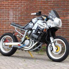 Honda Transalp War Machine by Cool Kid Customs