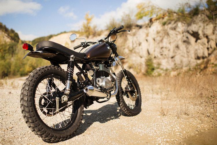 Yamaha SR250 Scrambler