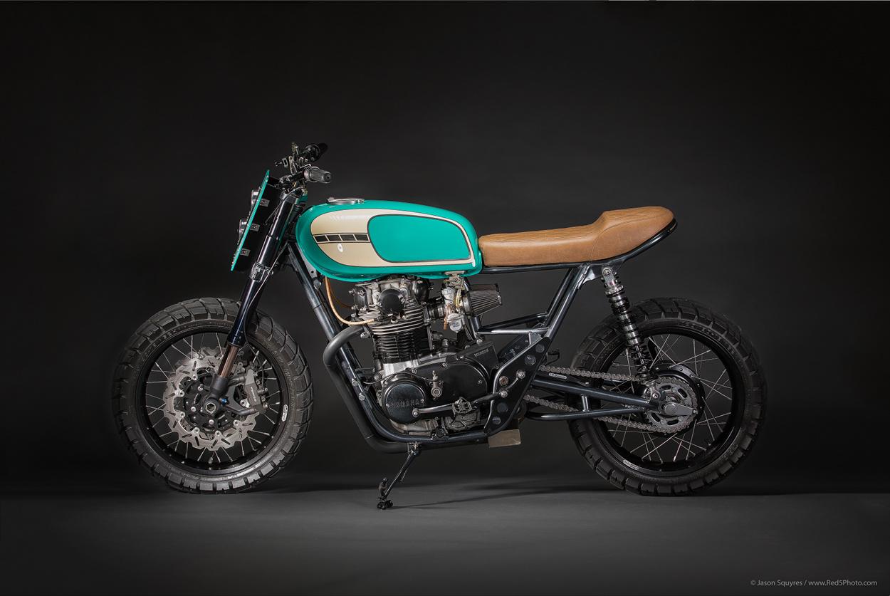 Yamaha XS650 Tracker by Tyson Carver – BikeBound