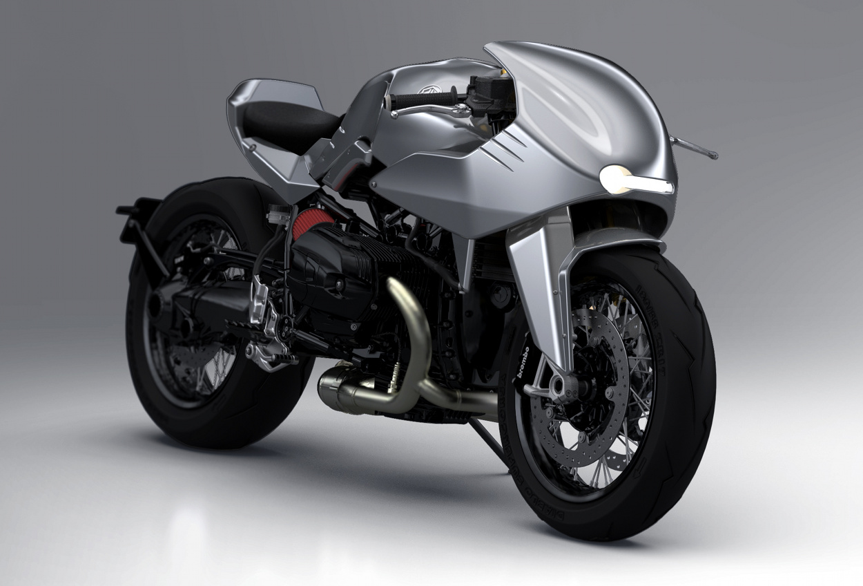 Bmw R Ninet Enhanced Racer By Dab Design Bikebound