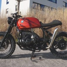 BMW R100R Scrambler by Cafe Racer SSpirit