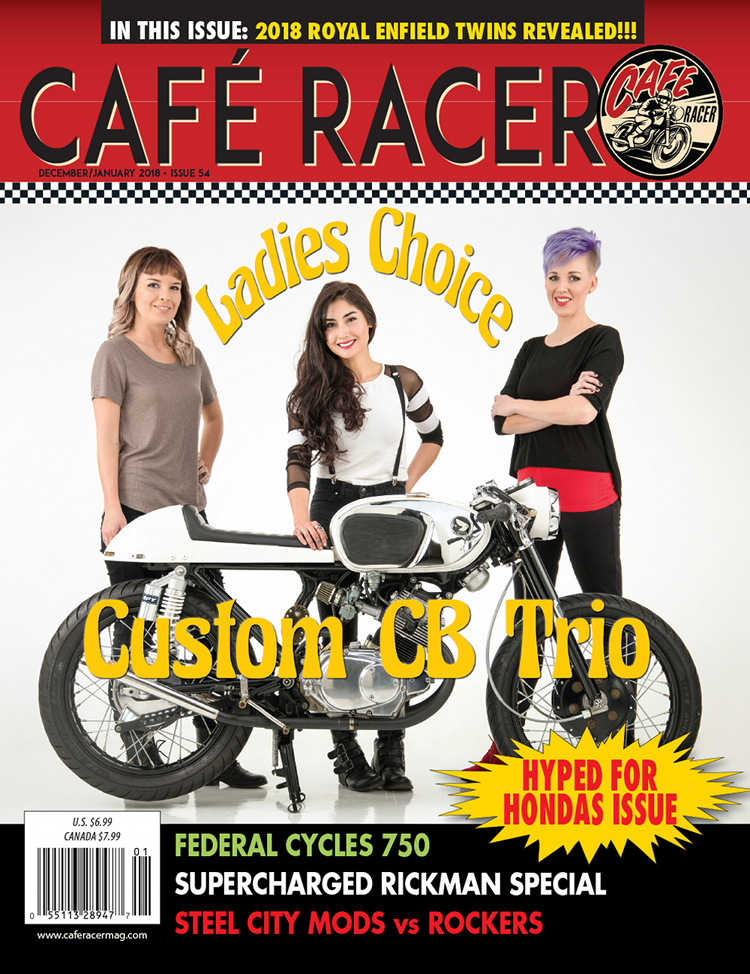 Cafe Racer magazine Sallings