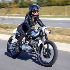 Honda CB160 Cafe Racer by Jeanie Sallings