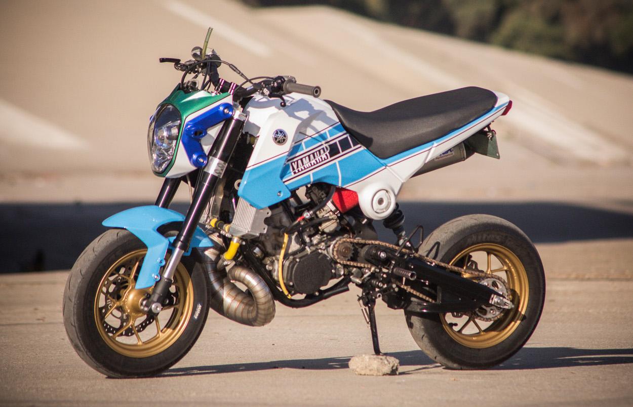 Two-Stroke Honda Grom by Jesse Davis – BikeBound