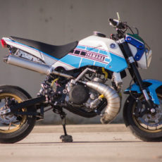 Two-Stroke Honda Grom by Jesse Davis