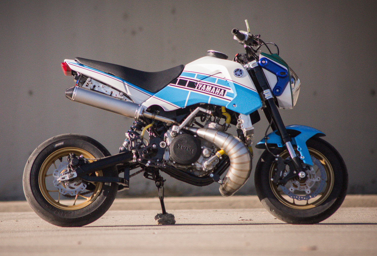 Two-Stroke Honda Grom by Jesse Davis – BikeBound