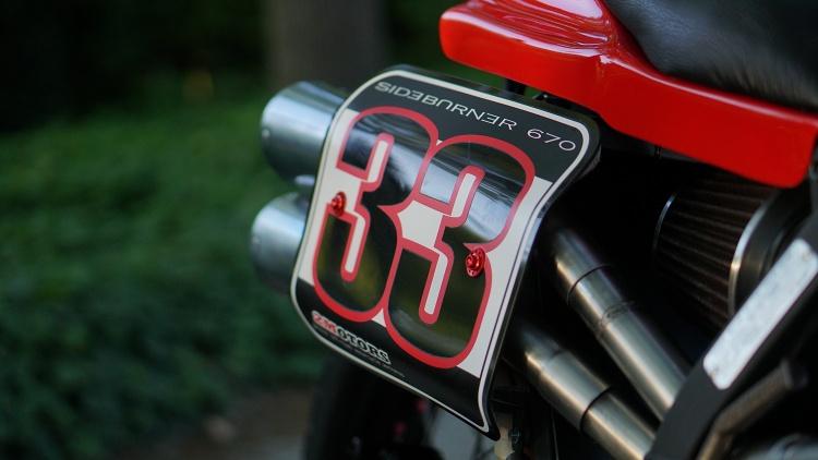 NX650 Street Tracker