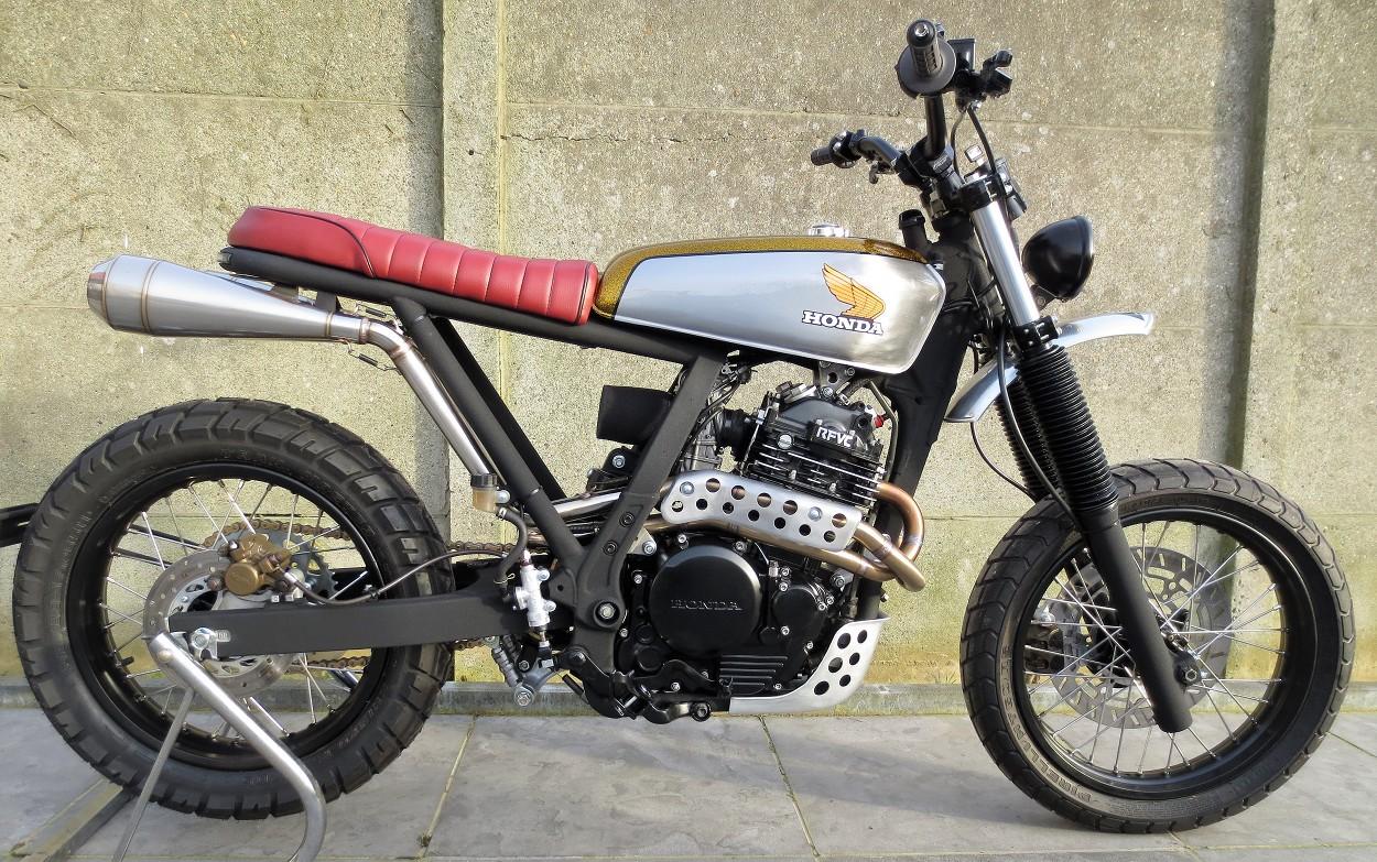 Honda NX670 Scrambler by 2Motors – BikeBound