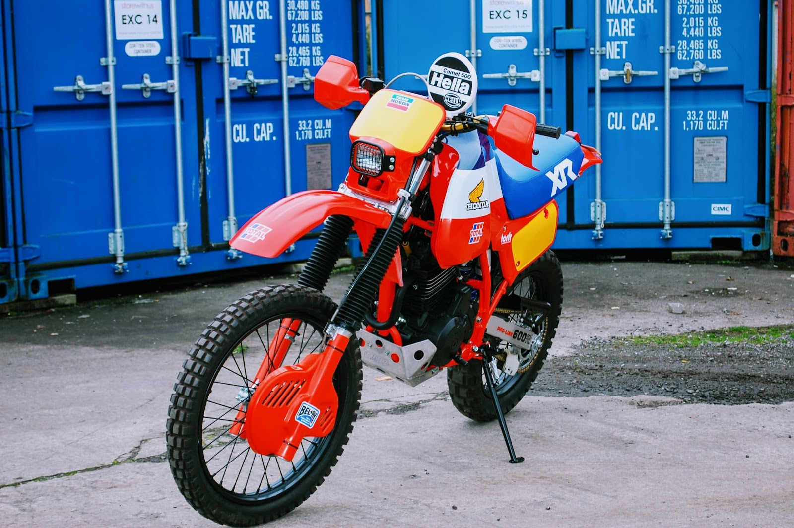 Honda Xl600 Dakar By Andrew Greenland Bikebound
