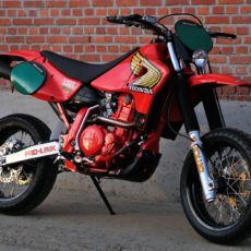 "Honda XR650R ""Retromotard"" by 2Motors"