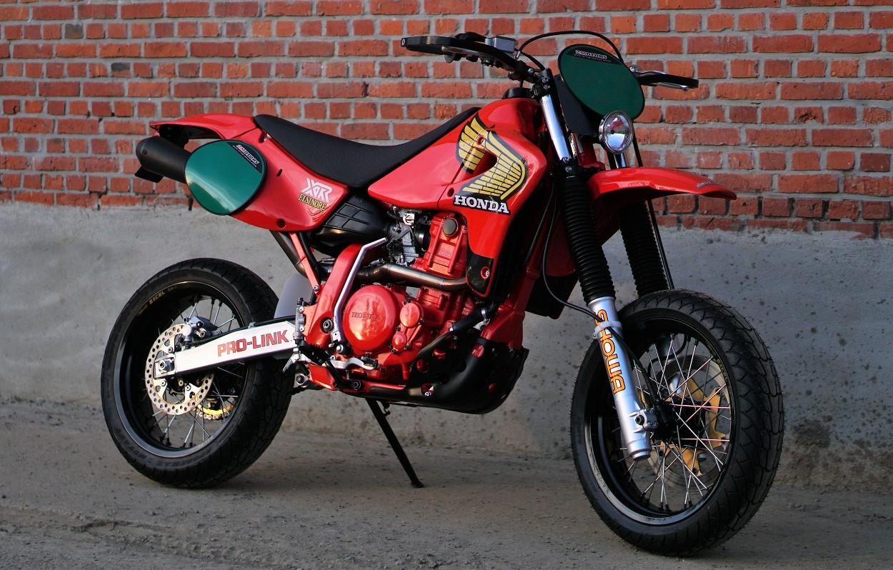 "Honda XR650R ""Retromotard"" by 2Motors – BikeBound"