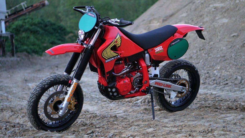 Honda XR250R Supermoto