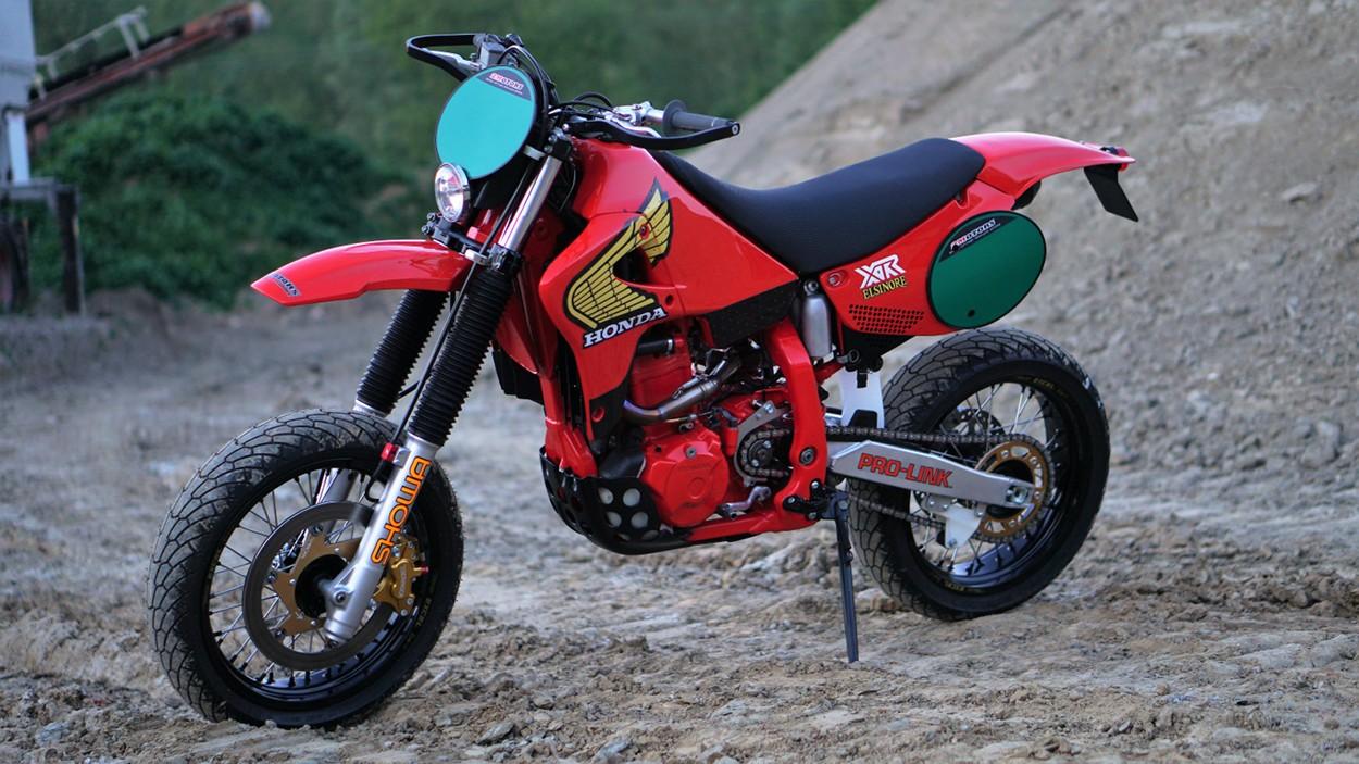 """Honda XR650R """"Retromotard"""" by 2Motors – BikeBound"""