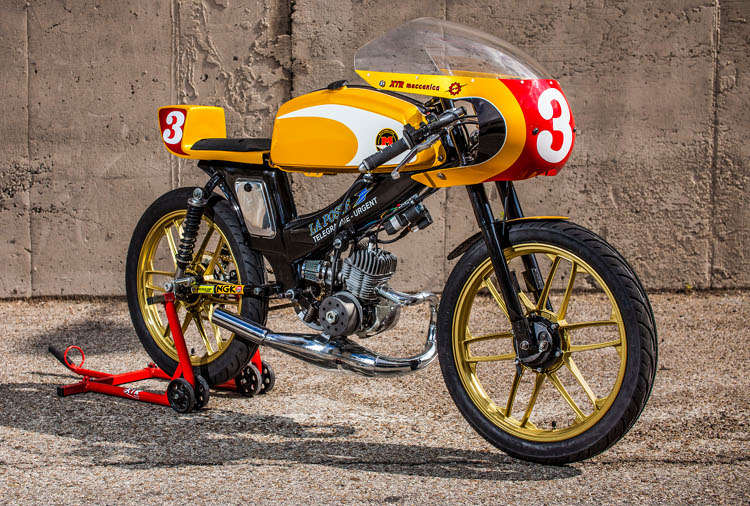 Mobylette SP90 Cafe Racer