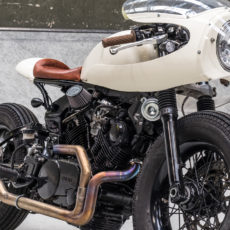 Yamaha TR1 Cafe Racer by Moto Adonis