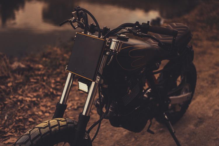 Yamaha XT600 Tracker Supermoto