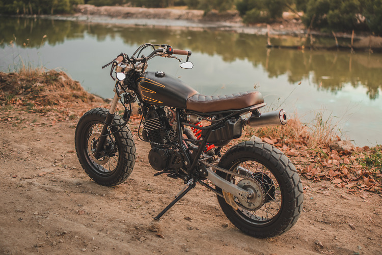 Yamaha Xt600 Tracker By Revolt Cycles Bikebound