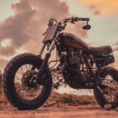 Yamaha XT600 Tracker by Revolt Cycles