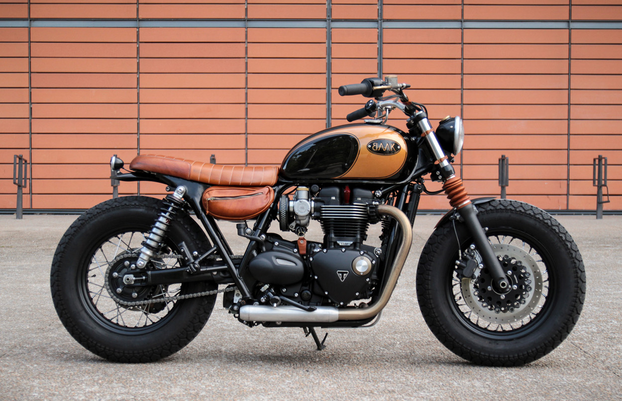 triumph bonneville t120 bobber by baak motocyclettes bikebound. Black Bedroom Furniture Sets. Home Design Ideas