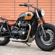 Triumph Bonneville T120 Bobber by BAAK Motocyclettes