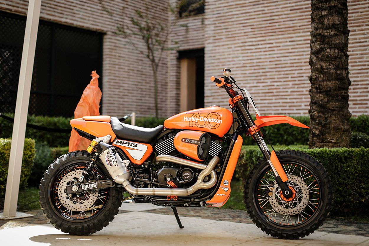 Harley Street Rod 750 Dirt Bike