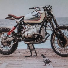 BMW R100GS Tracker by Fabrizio Grillo