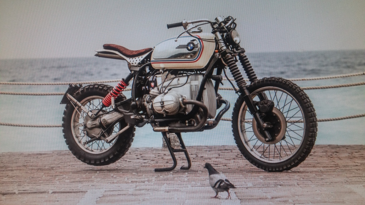 BMW R100GS Tracker