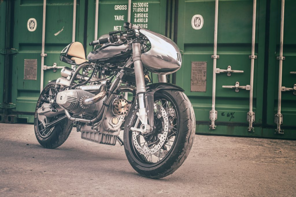 BMW R100RS Cafe Racer Silver Bullet