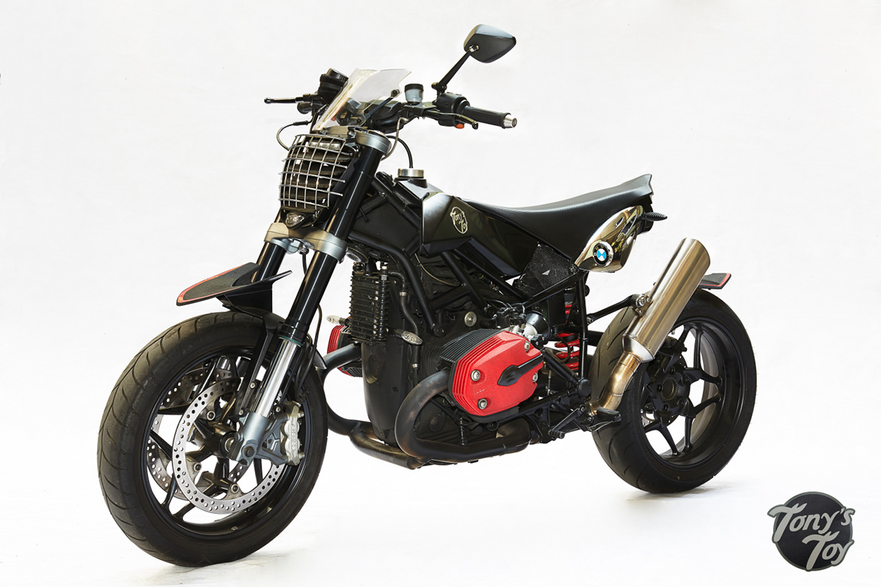 Bmw R1200 Supermoto By Tony S Toy Custom Motorcycles