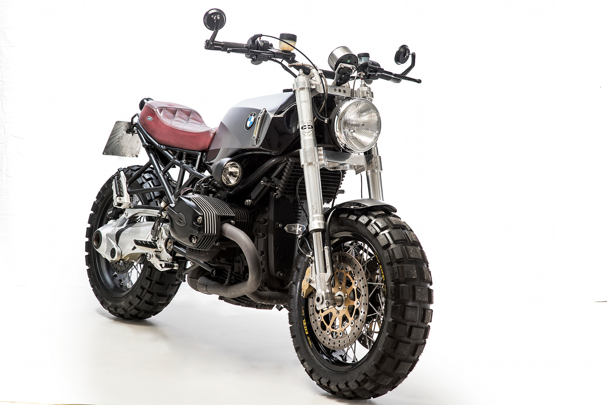 bmw r1200r scrambler by emporio elaborazioni meccaniche bikebound. Black Bedroom Furniture Sets. Home Design Ideas
