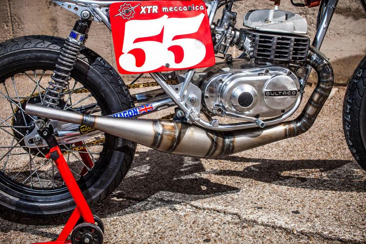 Bultaco Lobito Tracker by XTR Pepo – BikeBound