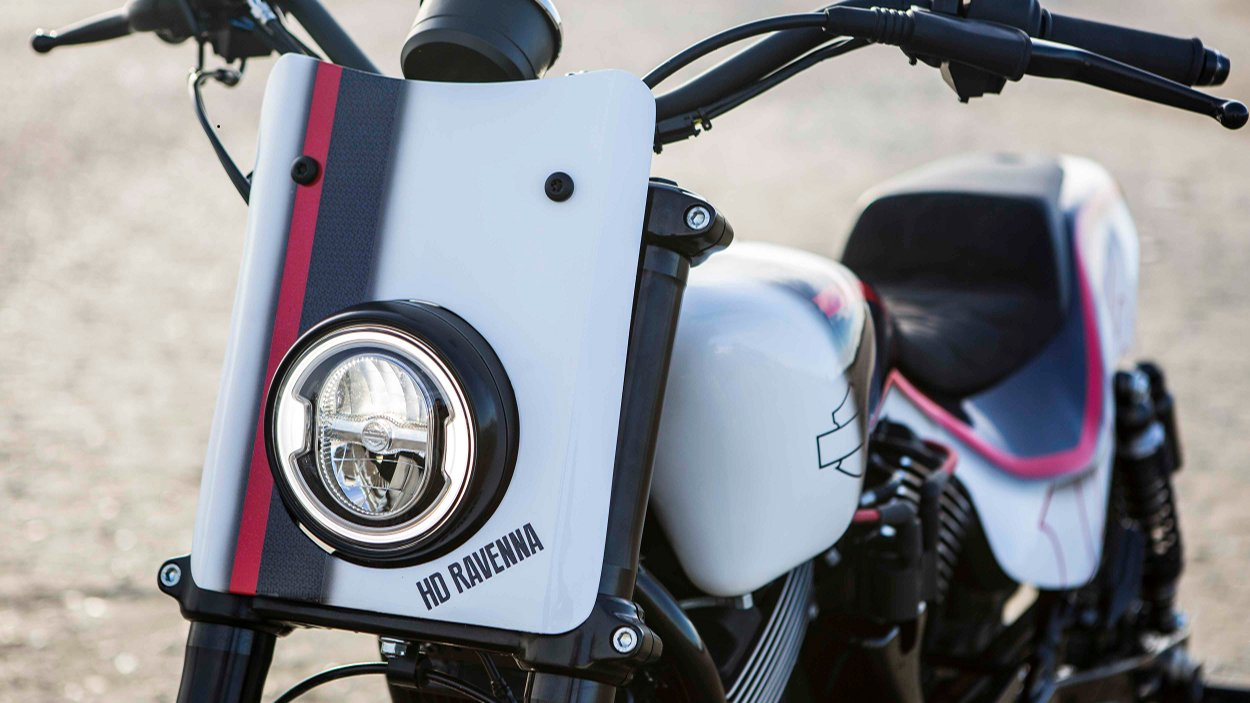 Harley Davidson: Street Rod 750 Tracker By Harley-Davidson Ravenna