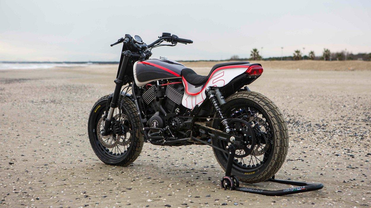 Street Rod 750 Tracker by Harley-Davidson Ravenna – BikeBound