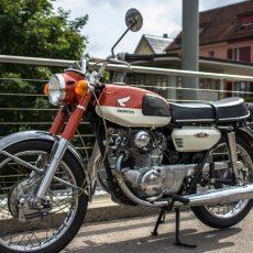 Honda CB125 Twin by Last Century Bikes