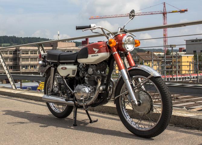 Honda cb125 twin by last century bikes bikebound for New century honda