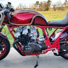 Honda CB890 Cafe Racer by Chris Klamer