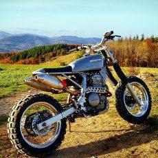 Honda Dominator Scrambler by BF Motorcycles