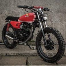 Honda TMX125 Brat Tracker by Revolt Cycles