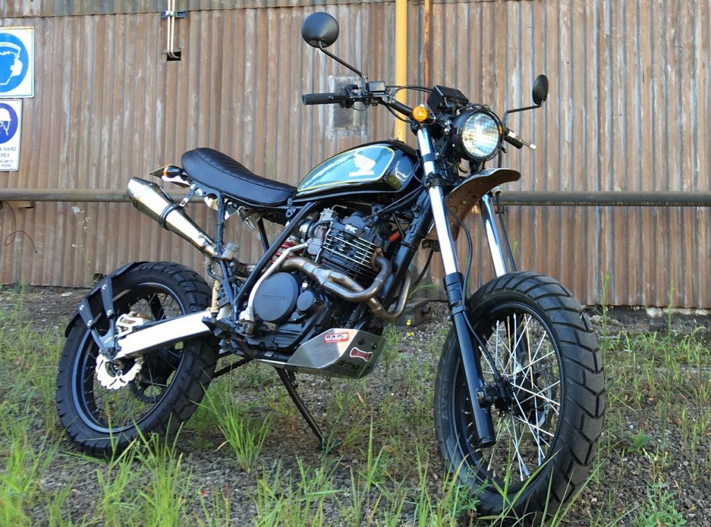 "Honda XR600 Scrambler: ""End of Days"" – BikeBound"