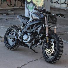 Suzuki SV650 Brat Tracker by Droog Moto