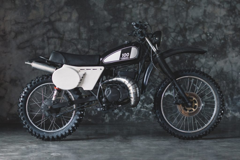 Yamaha RXZ Scrambler