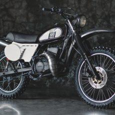 Yamaha RX-Z Scrambler by Thomas Edwards