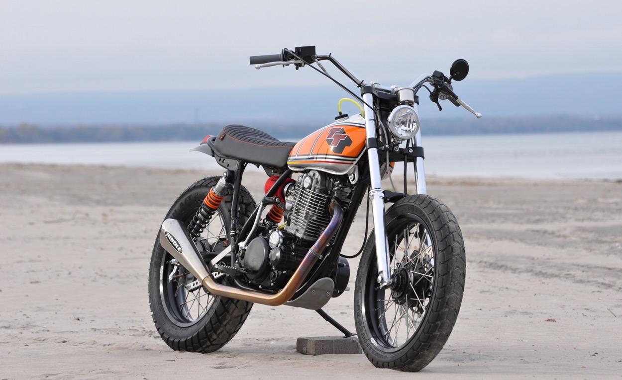 Yamaha TT500 Street Tracker by VZMC Customs – BikeBound