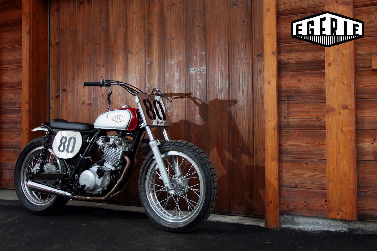 Yamaha XT600Z Flat Tracker by Egerie Moto – BikeBound