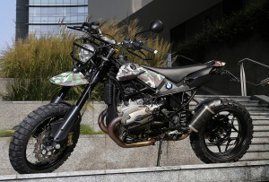 BMW R1200GS Street Tracker