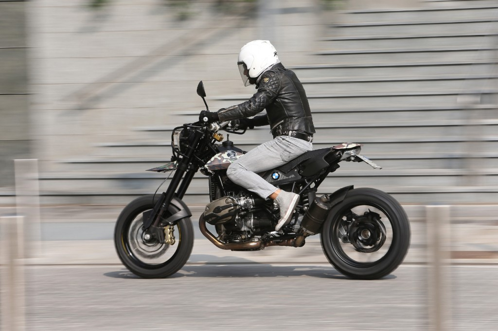 BMW R1200GS Street Tracker