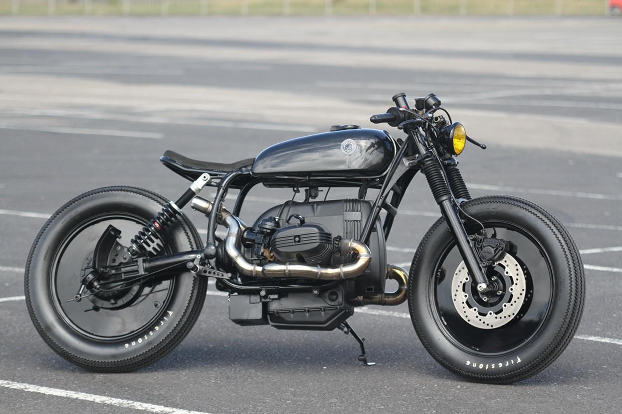 bmw r80rt cafe racer by liberty motorcycles bikebound. Black Bedroom Furniture Sets. Home Design Ideas