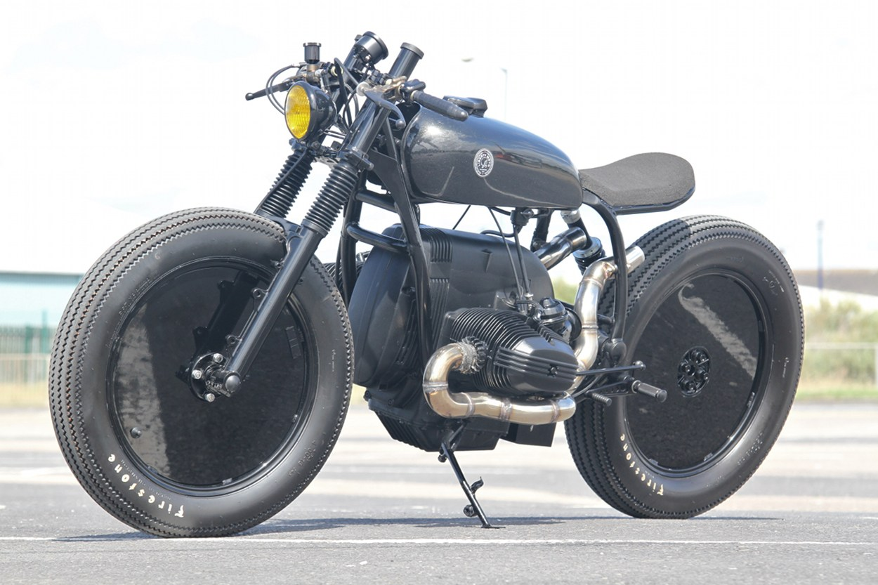 Bmw R80rt Cafe Racer By Liberty Motorcycles Bikebound